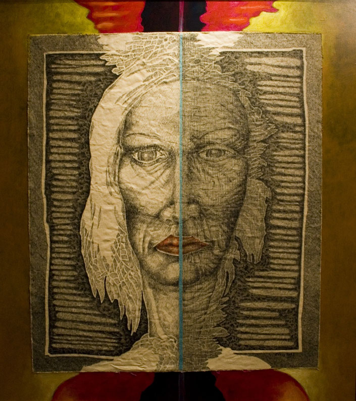 Dwie strony - Margot Bakenda - Figuratywne - Art In House
